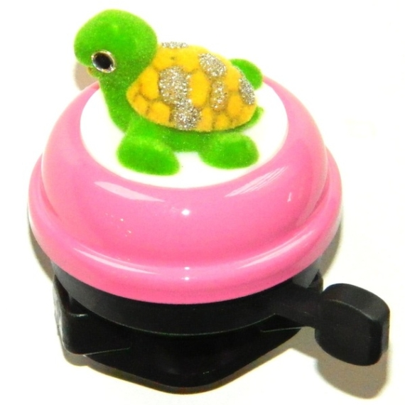 Csengő gömb rózsaszín teknősös
