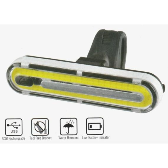 E Lámpa VELOTECH 50chipled USB
