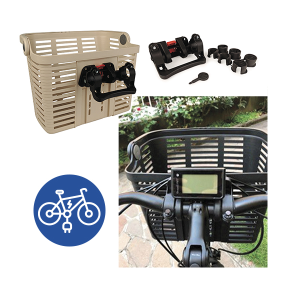 Kosár konzol BELLELLI XL e-bike verzió
