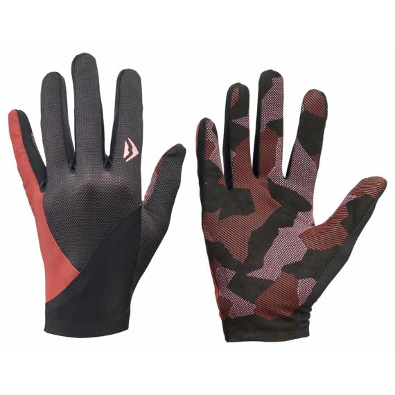 Kesztyű MERIDA SECOND SKIN XL bordó/fekete