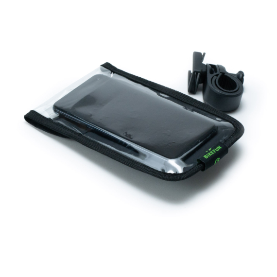 Táska BIKEFUN ROUTER TOUCH AQUA kormányra smartphone-hoz - B11047
