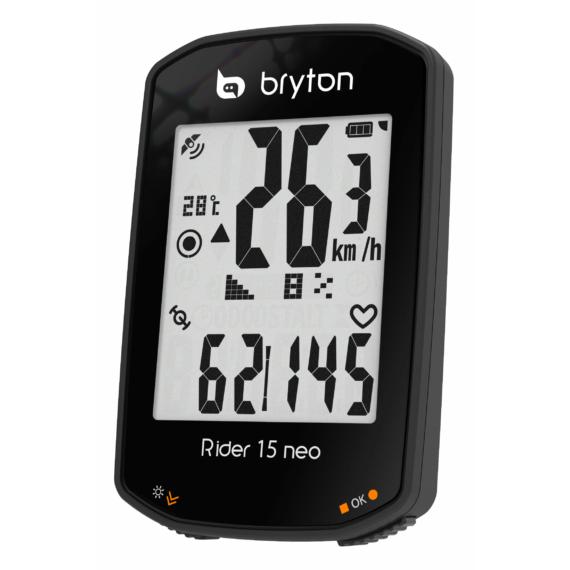 Computer BRYTON RIDER 15 NEO C GPS szett (+SCAD)