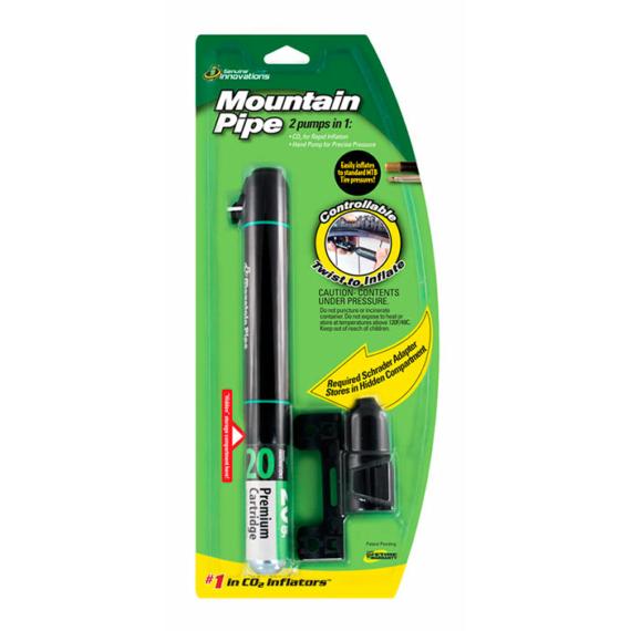 Pumpa CO2 adapterrel GENUINE INNOVATIONS MOUNTAIN PIPE - G2543