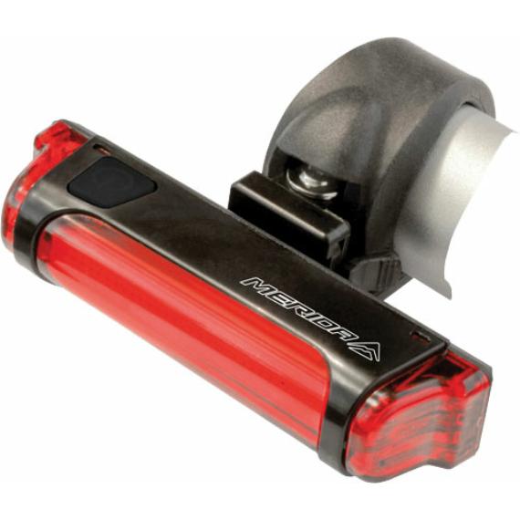 Lámpa MERIDA hátsó, USB, COB LED - HL-MD066