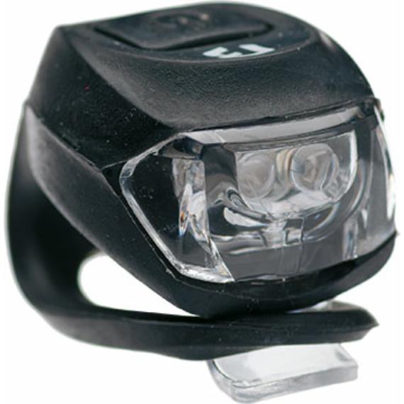 Lámpa BIKEFUN PIXIE hátsó 2 piros LED 2 funkció, szilikon, fekete (100/ctn)