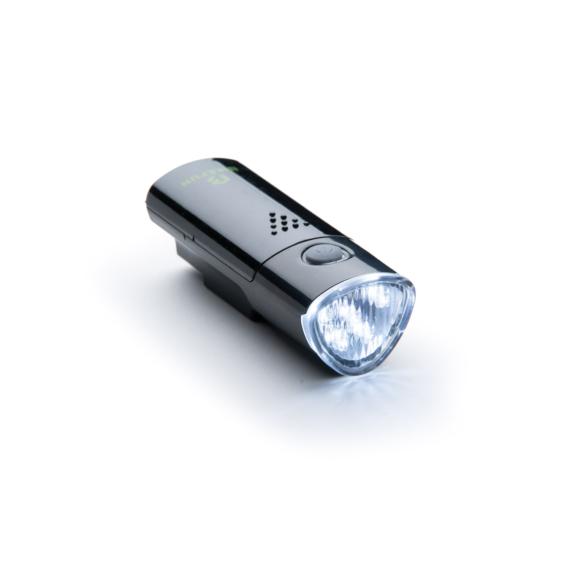 Lámpa BIKEFUN LINK első 5 fehér LED, 2 funkció, FEKETE