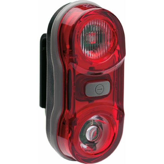 Lámpa BIKEFUN TWIN hátsó 2 piros LED, 3 - JY-596
