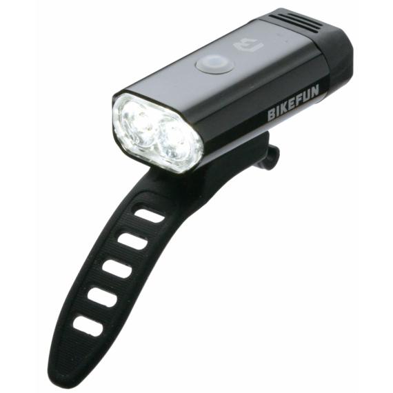 Lámpa BIKEFUN GLARE 400 USB első lámpa - JY-7066