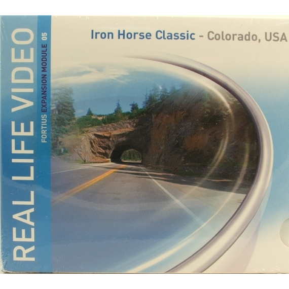 Tacx REAL LIFE VIDEO T1956.05 TACX IRON HORSE CLASSIC COLORADO