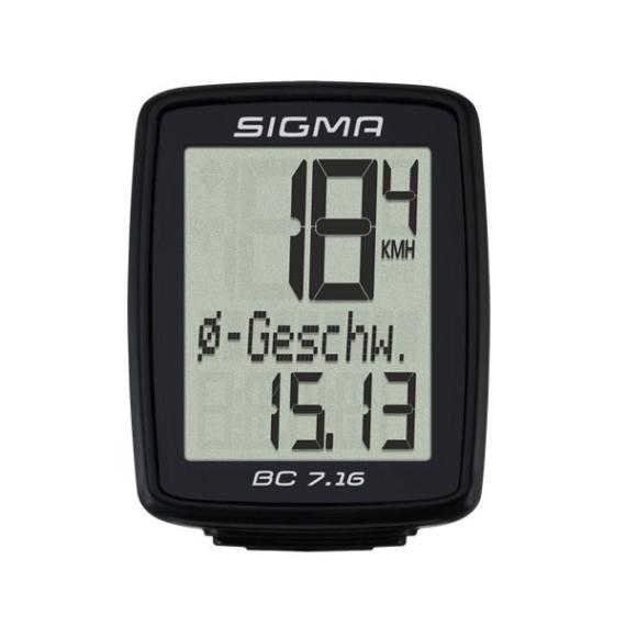 Sigma COMPUTER BC 7.16 SIGMA